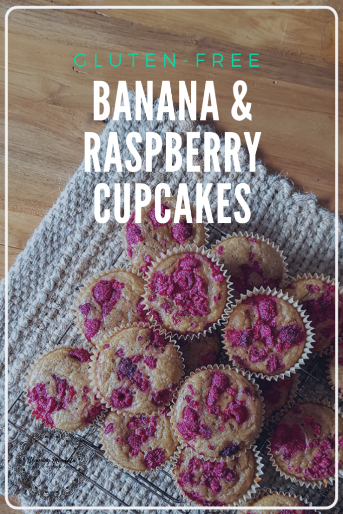 Banana & Raspberry Cupcakes