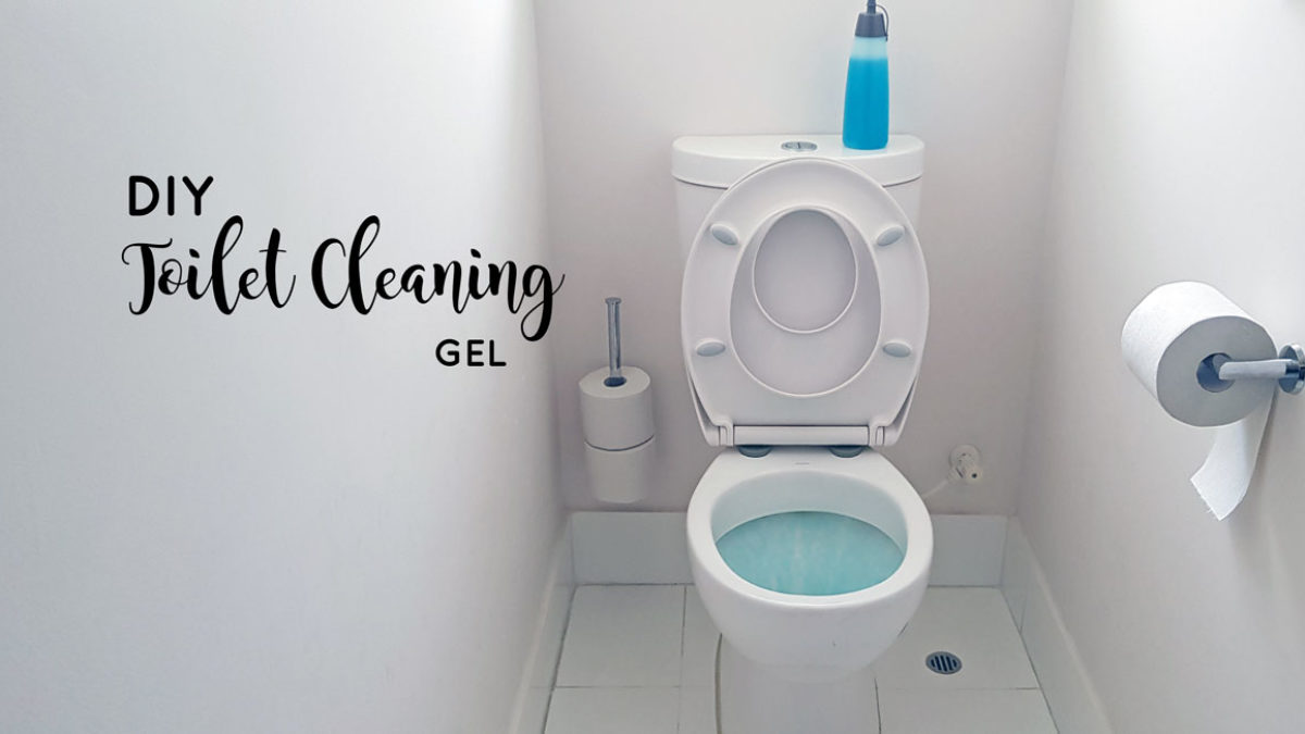 DIY Toilet Bowl Cleaning Gel