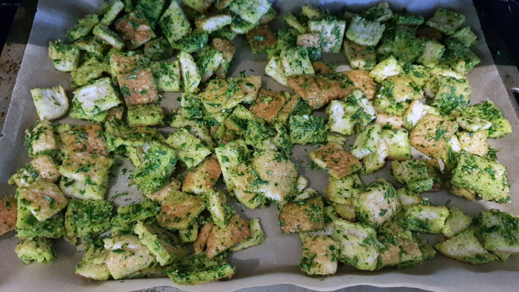 Herb & Garlic Croutons