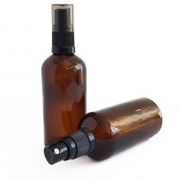 100ml Amber Glass Atomiser Bottle | Aromatherapy Tools & Supplies | Blooming Mandala