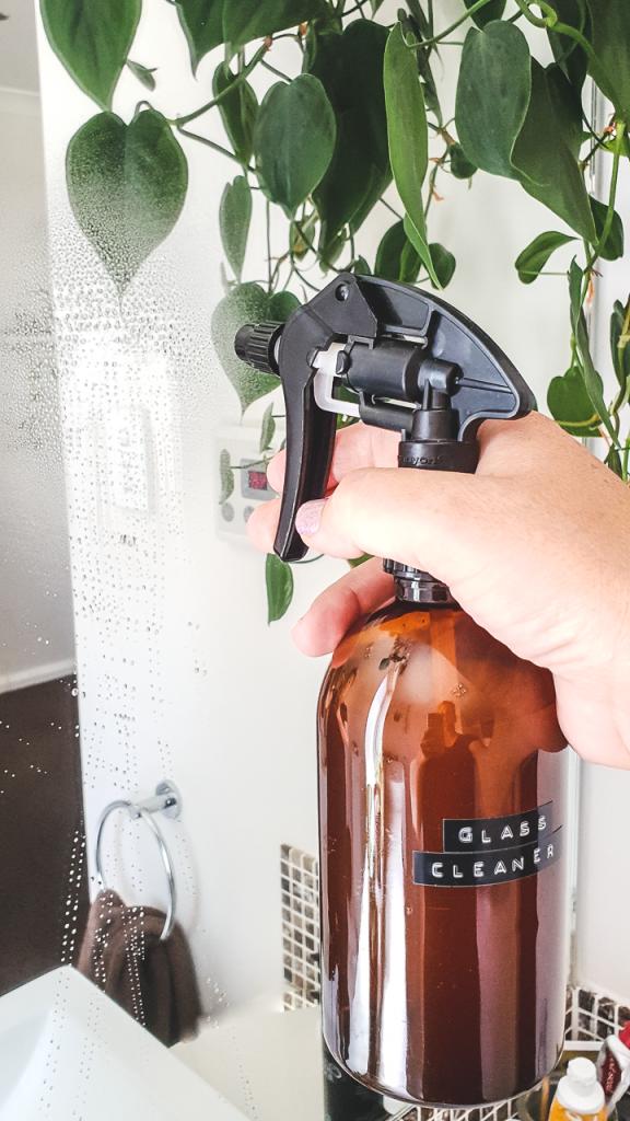 DIY Glass Cleaner Recipe