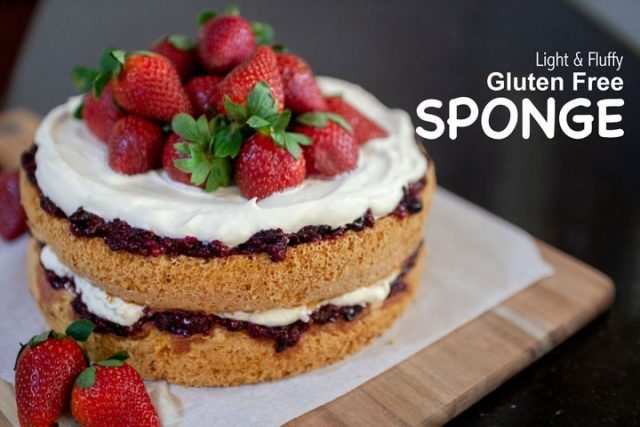 Who doesn't love a good sponge cake? This sponge is good for any occasion and to celebrate anyone. Heck, who needs an occasion to eat a yummy cake?! Get it in ya belly anytime!!! https://bloomingmandala.com.au/2019/05/07/light-and-fluffy-gluten-free-sponge/