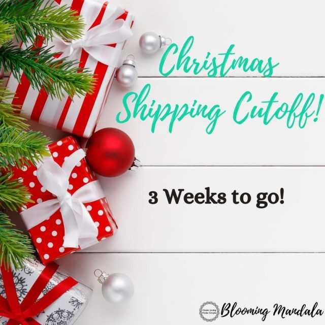 🎄If you dont want to miss out on getting your goodies before christmas then you need to get your orden in!