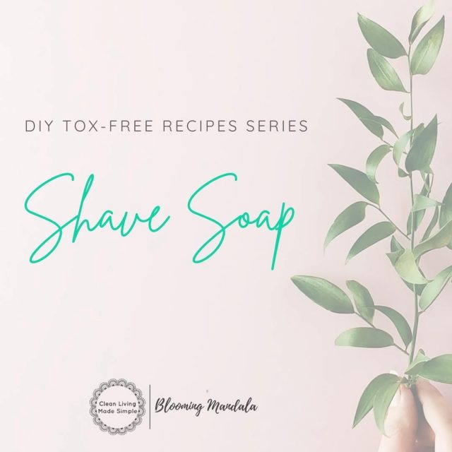 "DIY TOX-FREE RECIPE SERIES - BODY DAY 4 - SHAVE SOAP 🚿 I just ♥️ this shave soap! Have you been looking for a way to replace that aerosol can full of toxins labelled ""shaving cream"" in your bathroom? Finally, your search is over! Not only does this simple DIY make a nice thick lather it is made using just 3 ingredients. Most of the DIY shaving cream recipes out there are hard to use and can clog up the razor, making them not very user friendly or practical.  Prior to creating this recipe I used to just use an oil, or castile soap for shaving.  Sure they are easy to get hold of and have no prep time, but they don't make for the smoothest shave.  And if you have sensitive skin, are likely to leave you with a nasty shaving rash. But no more! Easy to make and long-lasting, this shave soap just the right amount of ""slip"" giving you a nice close shave and reducing razor burn and irritation. Grab the FREE recipe here (link in insta bio too) - https://bloomingmandala.com.au/2020/04/29/diy-melt-pour-shaving-soap/ If you have any questions or are keen to find out more about DIY, join us and OVER 800 other wonderful DIYers in our CLEAN LIVING COMMUNITY over in Facebook (LINK IN INSTA BIO TOO) -https://www.facebook.com/groups/2475416232513135 . . . . . . . #lowtoxlife #ditchandswitch #toxinfreeliving #toxinfreehome #healthyhome #Nontoxichome #cleanproducts #greenproducts #environmentallyfriendly #diymakeup #diyskinscare #homemade #Nontoxicskincare #greenbeautylover #organicbeauty #naturalbeautyproducts #sustainablebeauty #cleanbeautyrevolution #Lowtox #lowtoxliving #cleanliving #cleanlivingmadesimple #bloomingmandala #toxfree #chemicalfree #chemicalfreeliving #diyrecipes #zerowasteaustralia #diyshavingsoap #diyshavingcream"