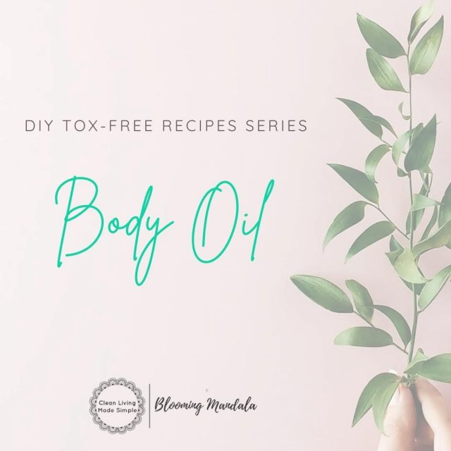DIY TOX-FREE RECIPE SERIES - BODY DAY 5 - BODY OIL 💆‍♀️ Body Oils are a great subsitute for a lotion or moisturiser. The best part is that it is WAAAY faster than other lotions or moisturisers... aint no body got time to sit around waiting for moisturiser to soak in, am i right?! If you are trying to remove toxins from your personal care products but don't have an unlimited budget? Then a nourishing body oil is the perfect lower cost solution, as lowtox Moisturisers can be costly 😔 We have named our body oil the '2 Minute Body Oil'! Does this show you just how quick this sucker is to make?! Quicker and cheaper than a trip to the shops to buy the toxic laden counterparts.... 🤷‍♀️Why wouldnt you DIY this easy lowtox swap?! Give it a whirl! Your body will love you for it ❤️ https://bloomingmandala.com.au/2019/07/25/2-minute-diy-body-oil/ If you have any questions or are keen to find out more about DIY, join us and OVER 800 other wonderful DIYers in our CLEAN LIVING COMMUNITY over in Facebook (LINK IN INSTA BIO TOO) -https://www.facebook.com/groups/2475416232513135 . . . . . . . #lowtoxlife #ditchandswitch #toxinfreeliving #toxinfreehome #healthyhome #Nontoxichome #cleanproducts #greenproducts #environmentallyfriendly #diymakeup #diyskinscare #homemade #Nontoxicskincare #greenbeautylover #organicbeauty #naturalbeautyproducts #sustainablebeauty #cleanbeautyrevolution #Lowtox #lowtoxliving #cleanliving #cleanlivingmadesimple #bloomingmandala #toxfree #chemicalfree #chemicalfreeliving #diyrecipes #zerowasteaustralia #skinfood #diybodyoil