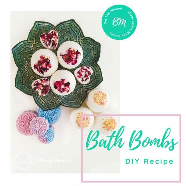 Did you notice we sneaked this little recipe onto the blog last week? We felt that every good DIY blog should have a good bath bomb recipe and although we had a recipe in our eBook - Unicorns, cupcakes & Bath Bombs we were missing one on our blog!  But no longer... The perfect recipe to make with the kids, gift to your loved ones or just for a bit of self-pampering.  This recipe is the perfect starting point, the base,if you will, for you to express your creative side and decorate, tweak or pimp up however you like. Link in bio . . . . . . #Lowtox #lowtoxliving #cleanliving #cleanlivingmadesimple #bloomingmandala #toxfree #chemicalfree #chemicalfreeliving #diyrecipes #essentialoils #doterraau #younglivingaustralia #toxfreeliving #chemicalfreebeauty #toxfreebeauty #toxfreepersonalcare #nochemicals #greenproducts #environmentallyfriendly #diymakeup #diyskinscare #bathbombs #diybathbombs #homemadeskincare #nontoxicskincare #greenbeautylover #organicbeauty #naturalbeautyproducts