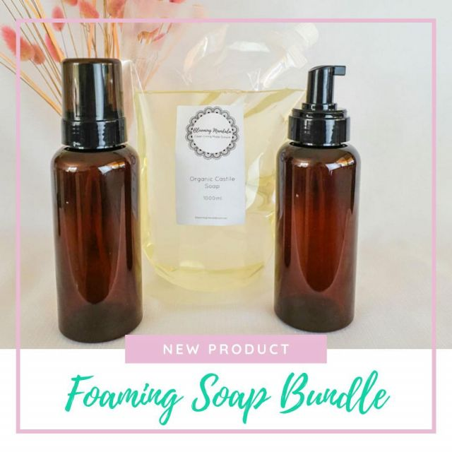Want to start your low tox DIY journey but unsure where to start? Is it all too much and a little confusing and life just gets in the way? Well we have made it super simple with our new 🤩Basic Foaming Soap Bundle!🤩 You get everything you need to kick that toxic laden store brought foaming soap to the kerb! Whilst drastically reducing your plastic waste at the same time! Winning! How many refills will this make you?  Here's the best part! You can customise the ratio's to suit your frugality! So if you like your foaming soap super lush n rich you might make 8 x 375ml refills, if you're happy to be more frugal you can get up to 22 x 375ml refills! I don't care how much you wash your hands.. that's a lot of bang for your buck!! 😜 Our Foaming Soap Bundle 🌱Makes it simple 🌱Is Customizable 🌱No Toxins 🌱Less Plastic Waste 🌱Better for the family and the environment! Get yours to start your clean living life today! Link in bio #environmentallyfriendly #homemade #lowtox #lowtoxliving #cleanliving #cleanlivingmadesimple #bloomingmandala #toxfree #chemicalfree #chemicalfreeliving #diyrecipes #lowtoxlife #ditchandswitch #toxinfreeliving #toxinfreehome #healthyhome #nontoxichome #notoxins #cleanproducts #nochemicals #greenproducts #zerowasteaustralia #zerowastehome #zerowastecleaning #zerowasteproducts #zerowastelife #zerowastetips #zerowastemovement #zerowastediy #zerowasteideas