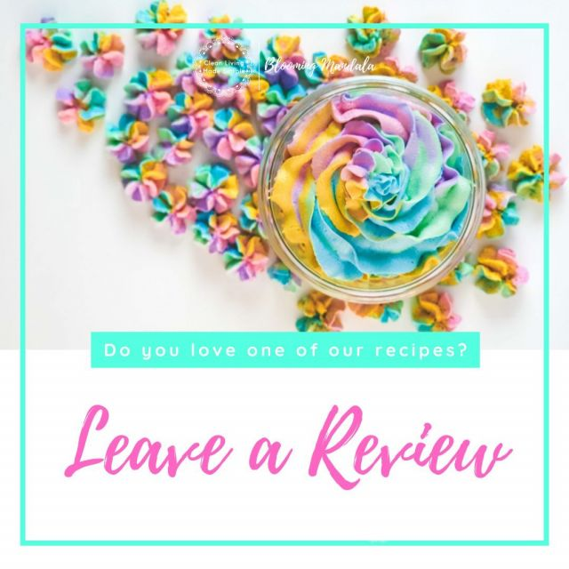 Have you made one of our recipes and want to let others know what you thought? We would love you to give us a star rating and a few words on what you thought. Simply open the recipe and at the top of the recipe you will see the little stars to leave a review  🌟🌟🌟🌟🌟